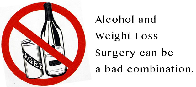 Alcohol & Weight Loss Surgery