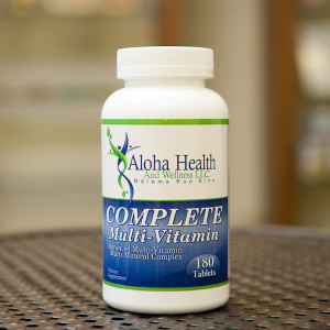 Aloha Health and Wellness Complete Multi-Vitamin