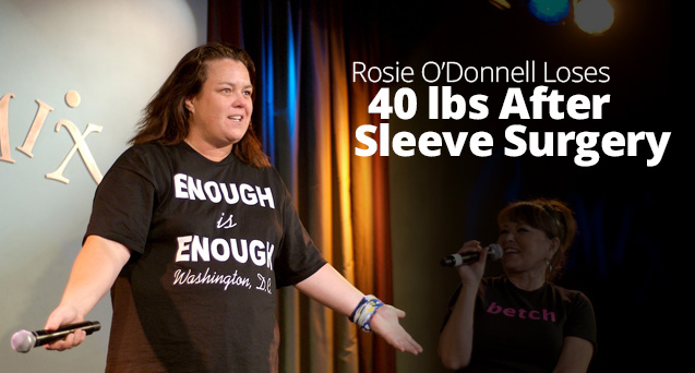 Rosie O'Donnell Loses 40 lbs After Sleeve Surgery
