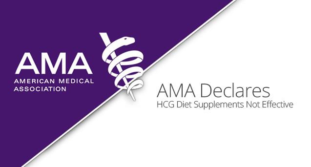 AMA Declares HCG Diet Supplements Not Effective