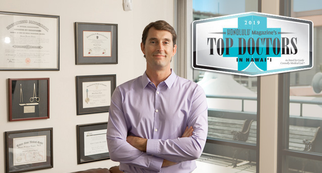 Dr. Fowler Top Doctor in Honolulu Magazine 2018