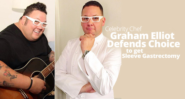 Celebrity Chef Graham Elliot Defends Choice to get Sleeve Gastrectomy