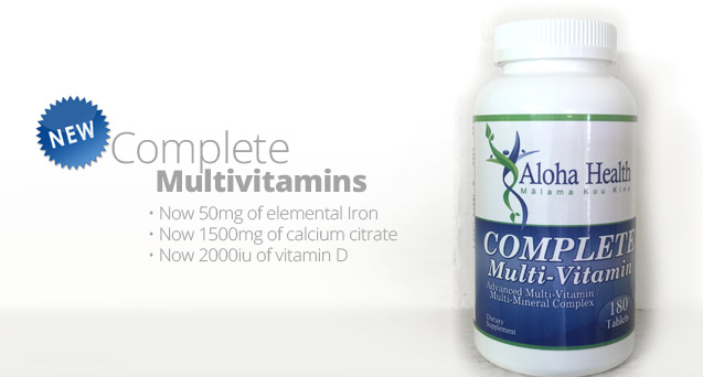 New Complete Multivitamins